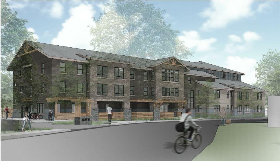 Ruby Street Apartments rendering