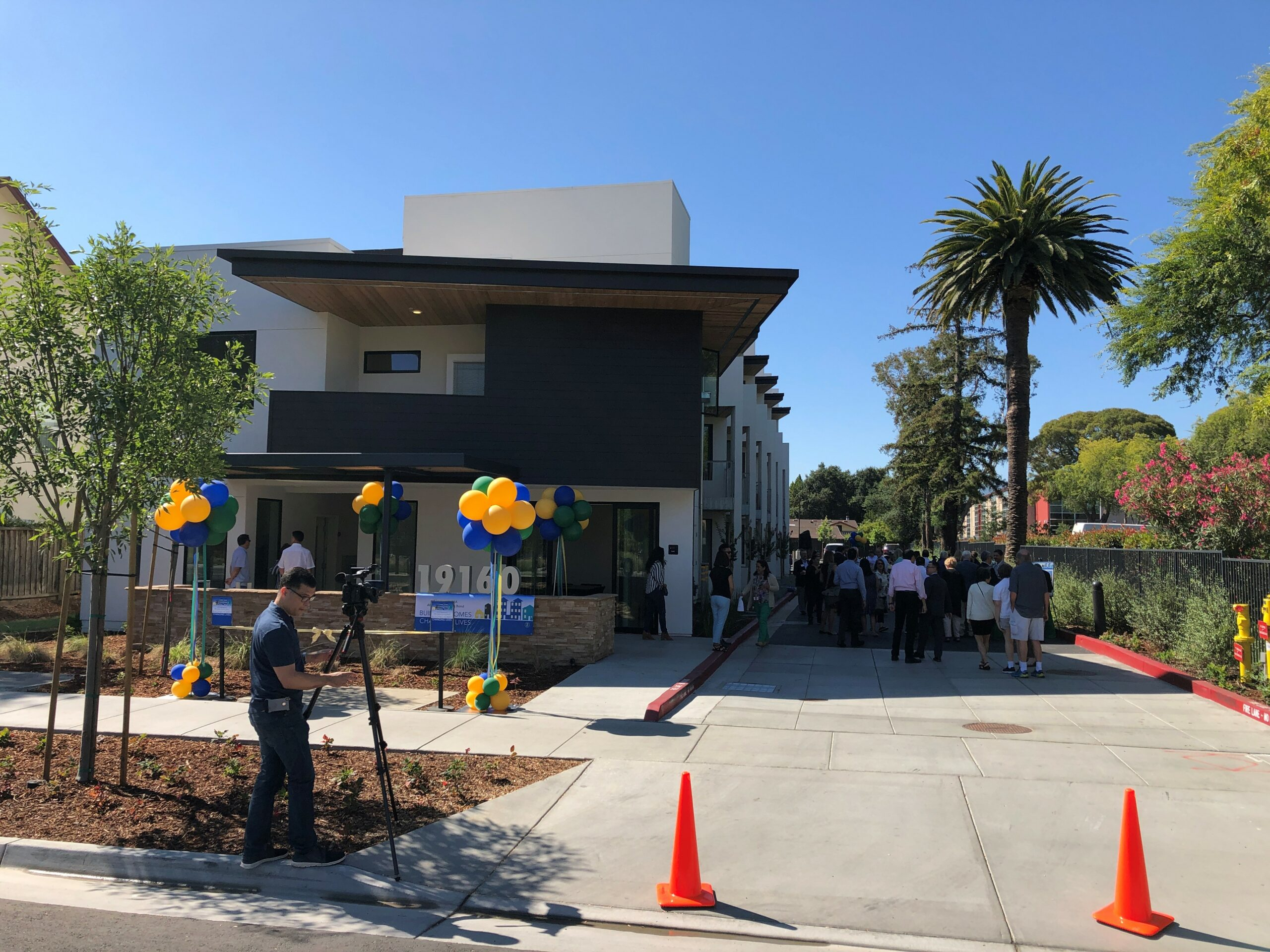 The Veranda on its grand opening day, August 12, 2019