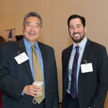 Craig Mizushima, our new Chief Impact Officer, with Kevin Zwick