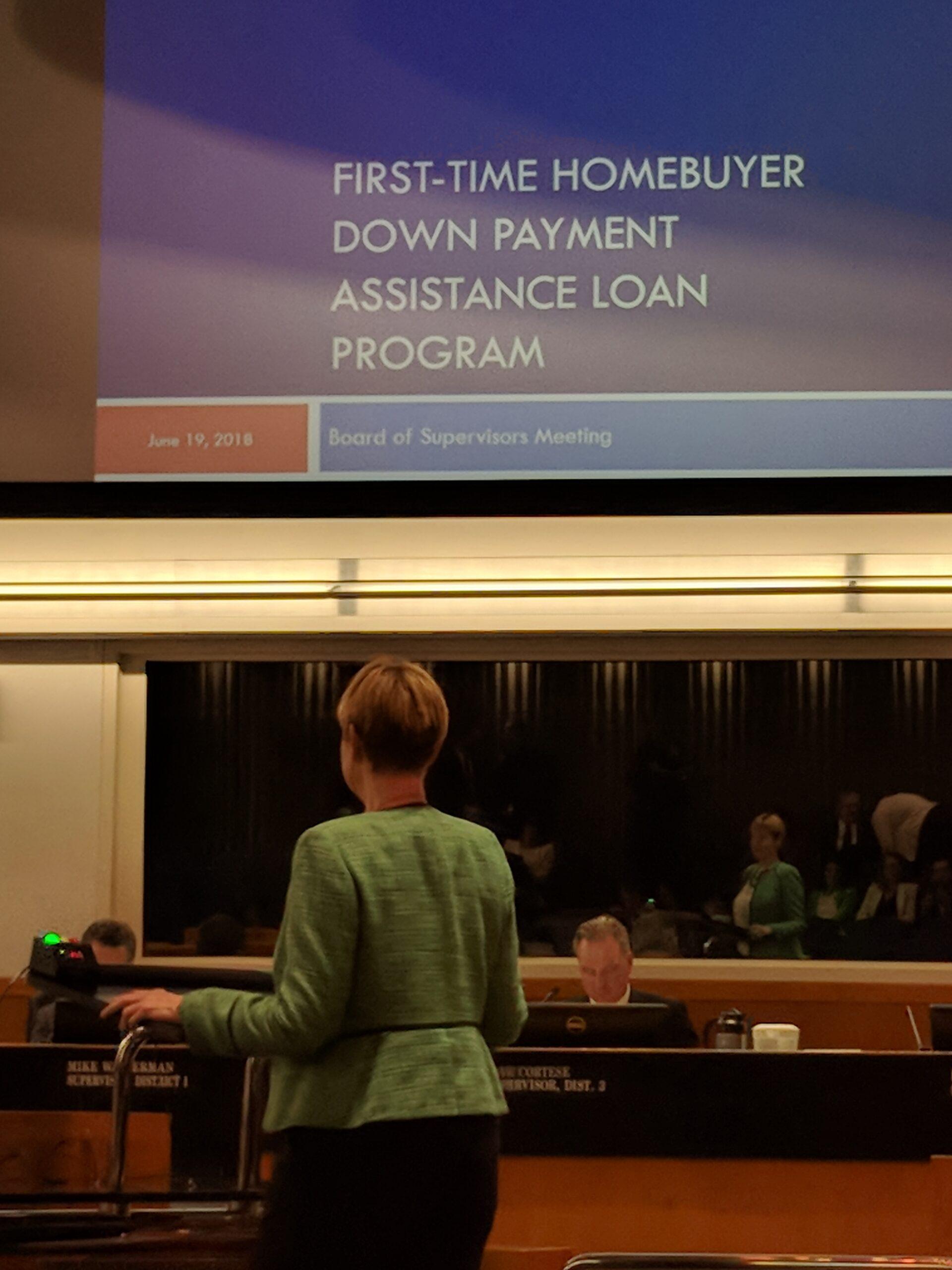 At the June 19th 2018 Santa Clara County Board of Supervisors Meeting