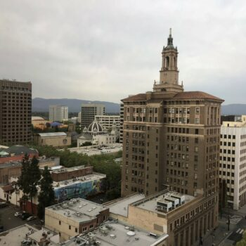 View of downtown San Jose