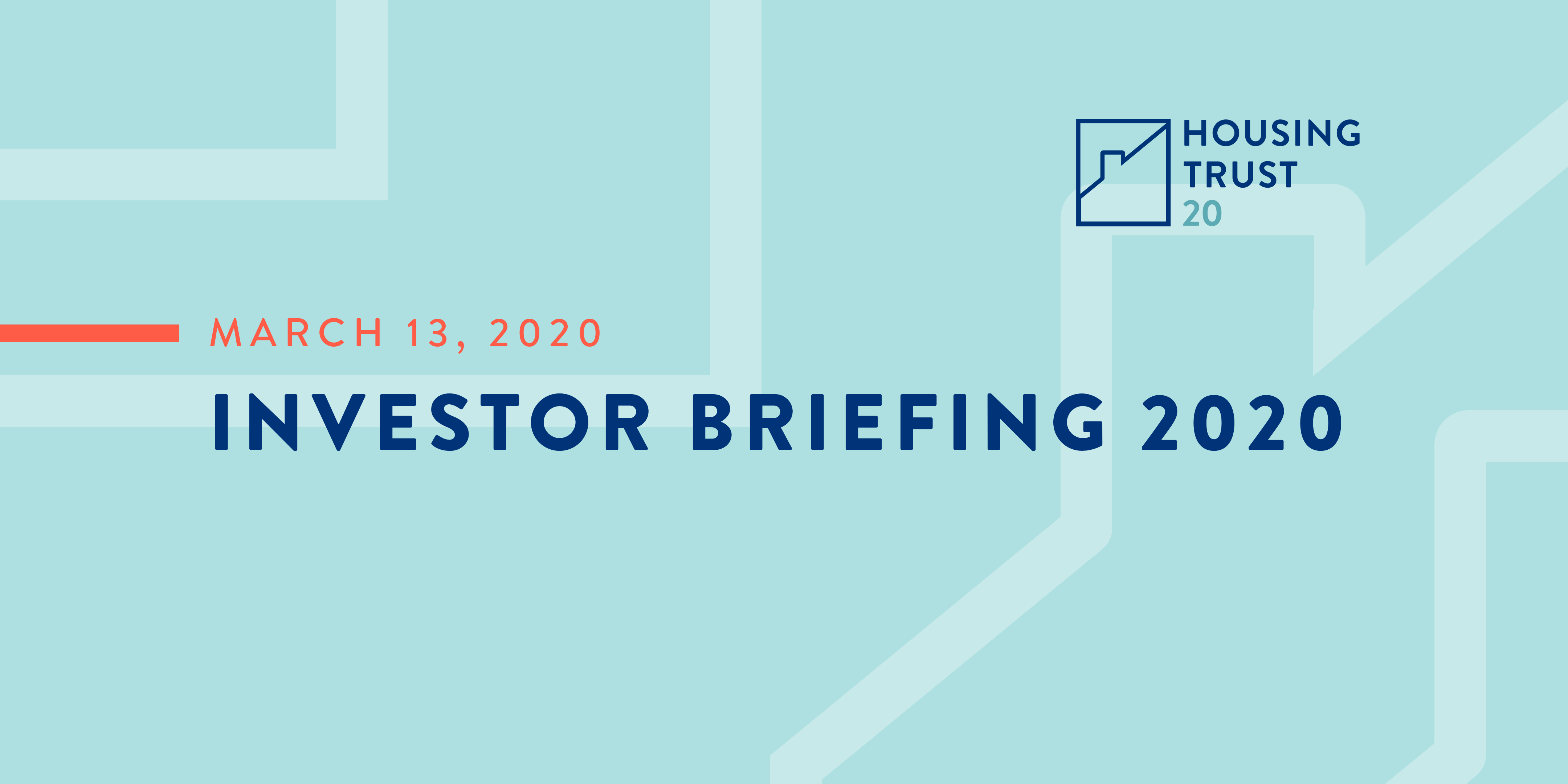 Investor Briefing is on March 13