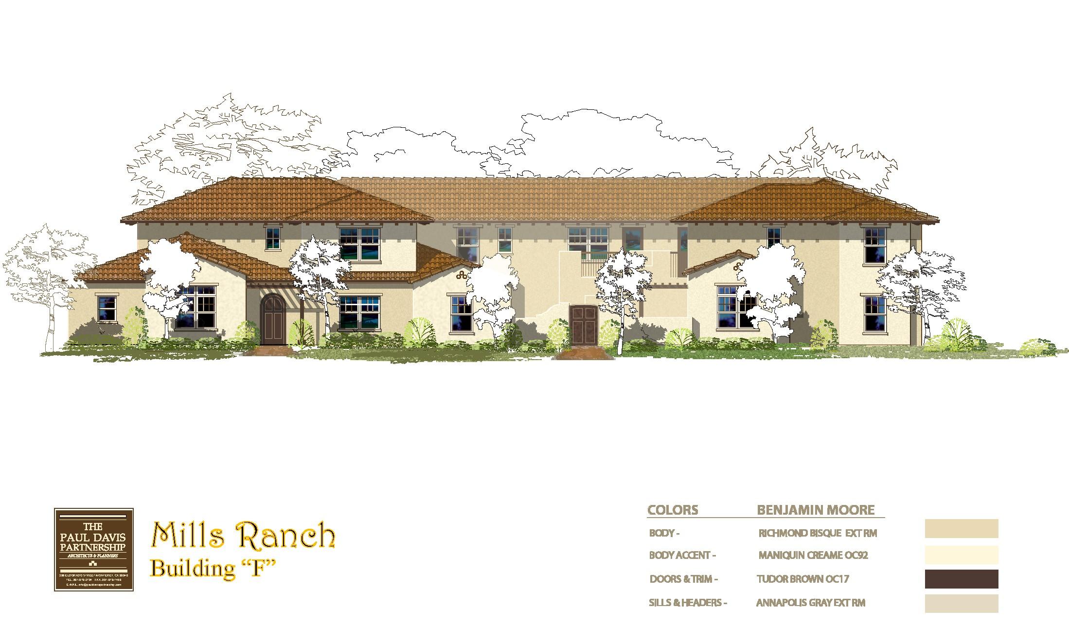 Mills Ranch rendering