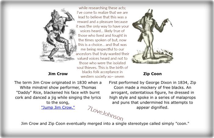 7LoveJohnson-zip coon-jim crow