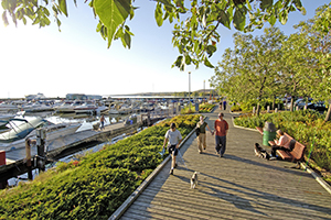 North Bay's Waterfront Park