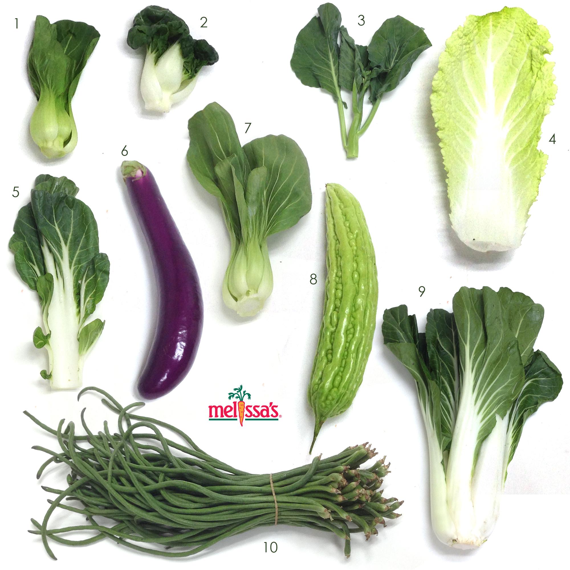 亚洲蔬菜视觉指南
