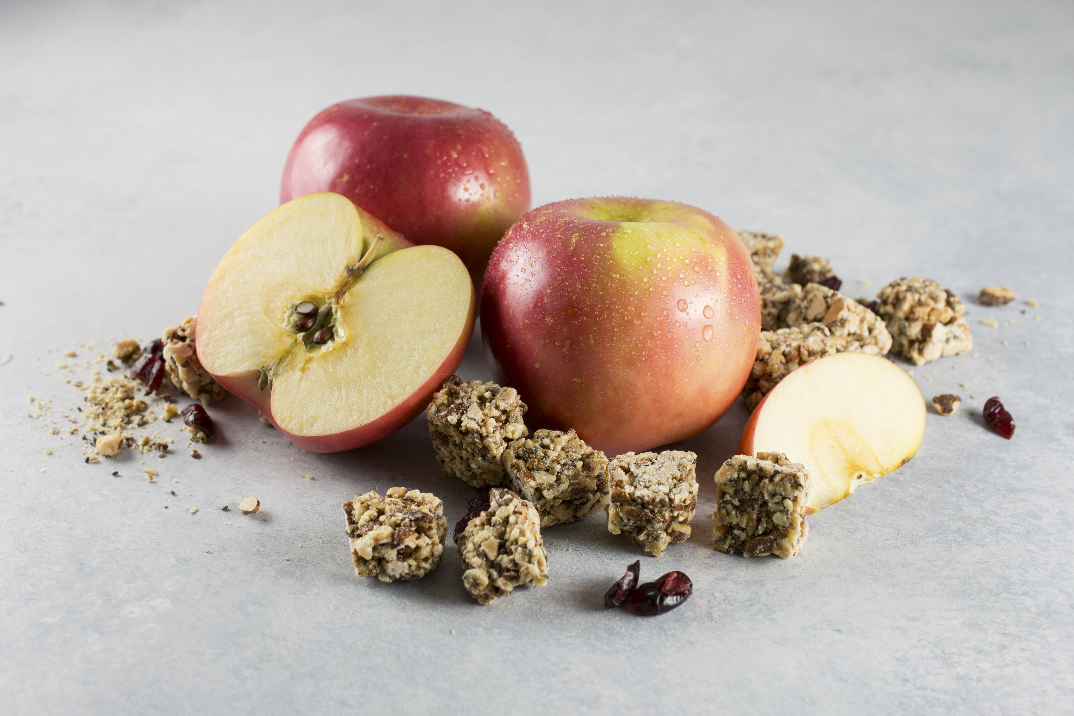 Baked Apples with Clean Snax