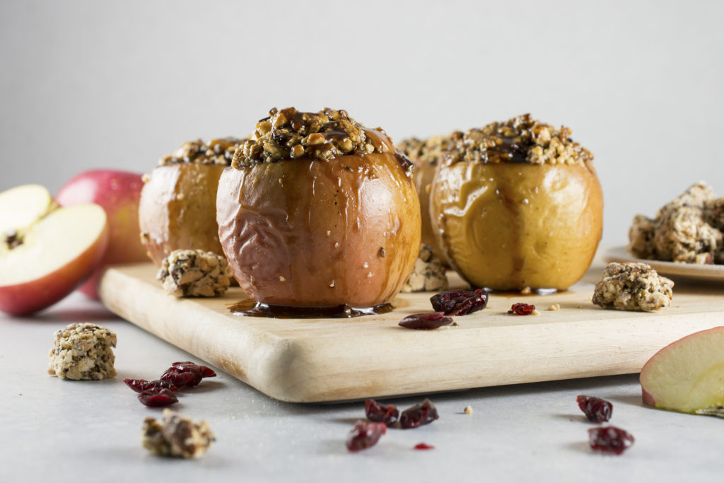 Holiday Baked Apples