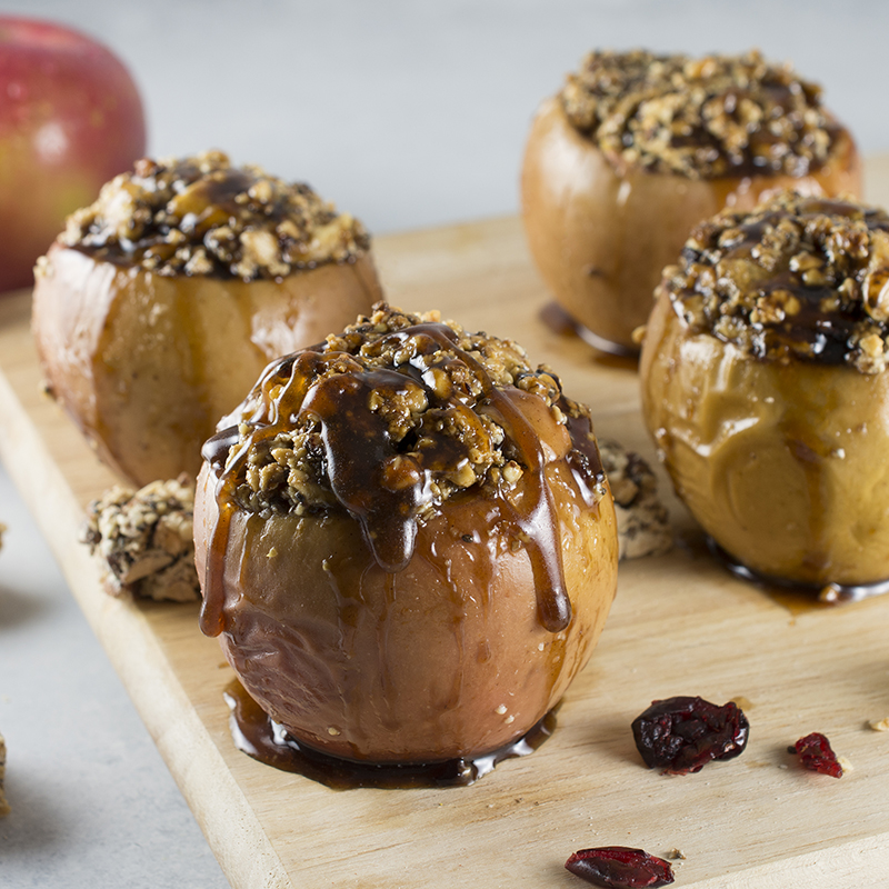 Holiday Baked Apple Dessert