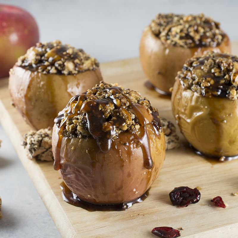 Holiday Baked Apple Dessert