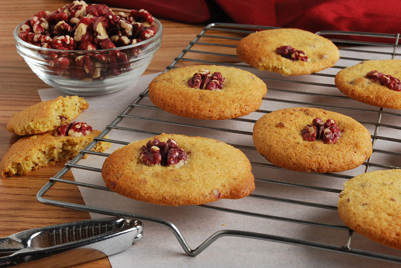 Lemon-Walnut Cookies