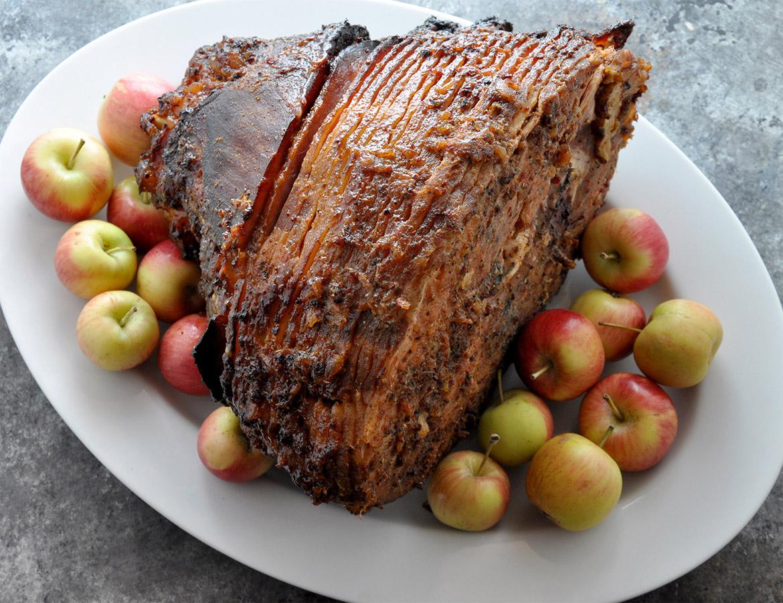 Oaxaca Chile-Pineapple Glazed Ham