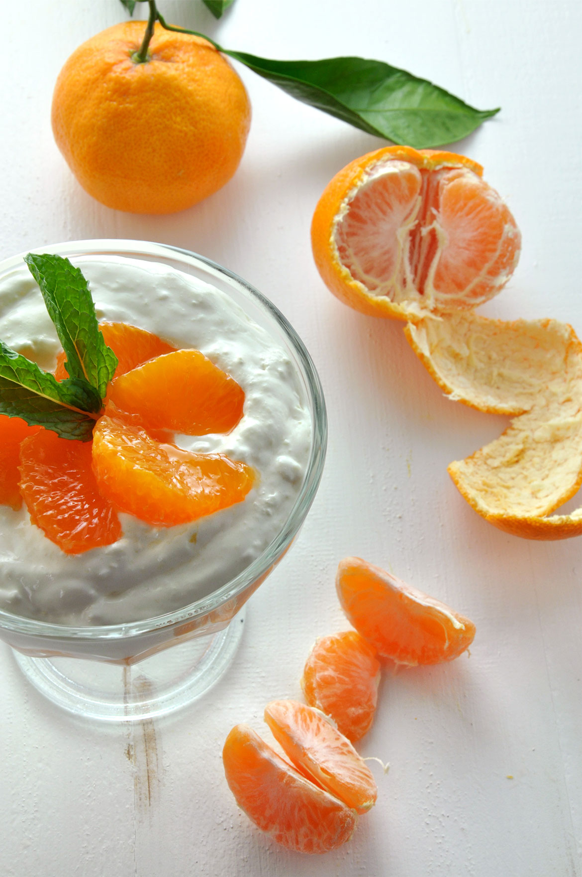 Satsuma Tangerine豆腐慕斯