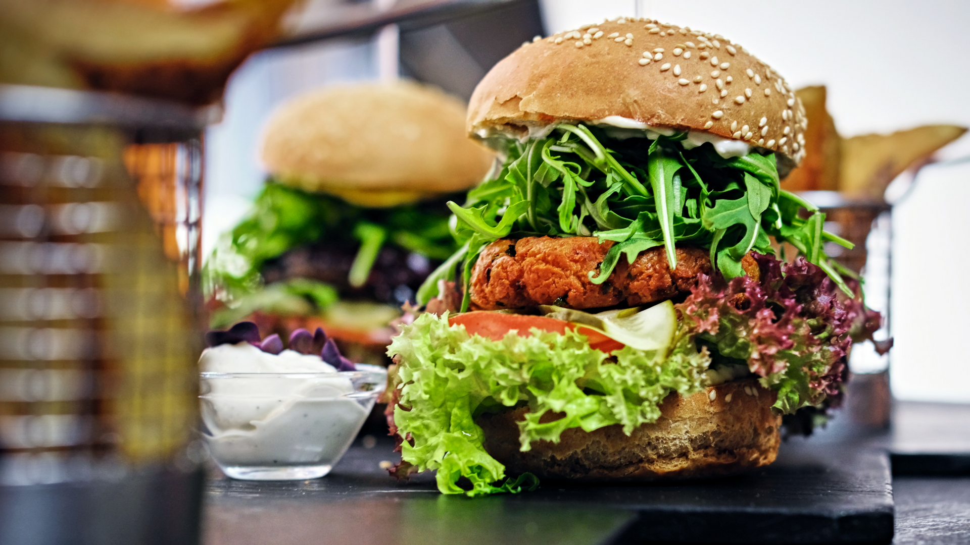 Non-Meat Protein Sources vegan burger