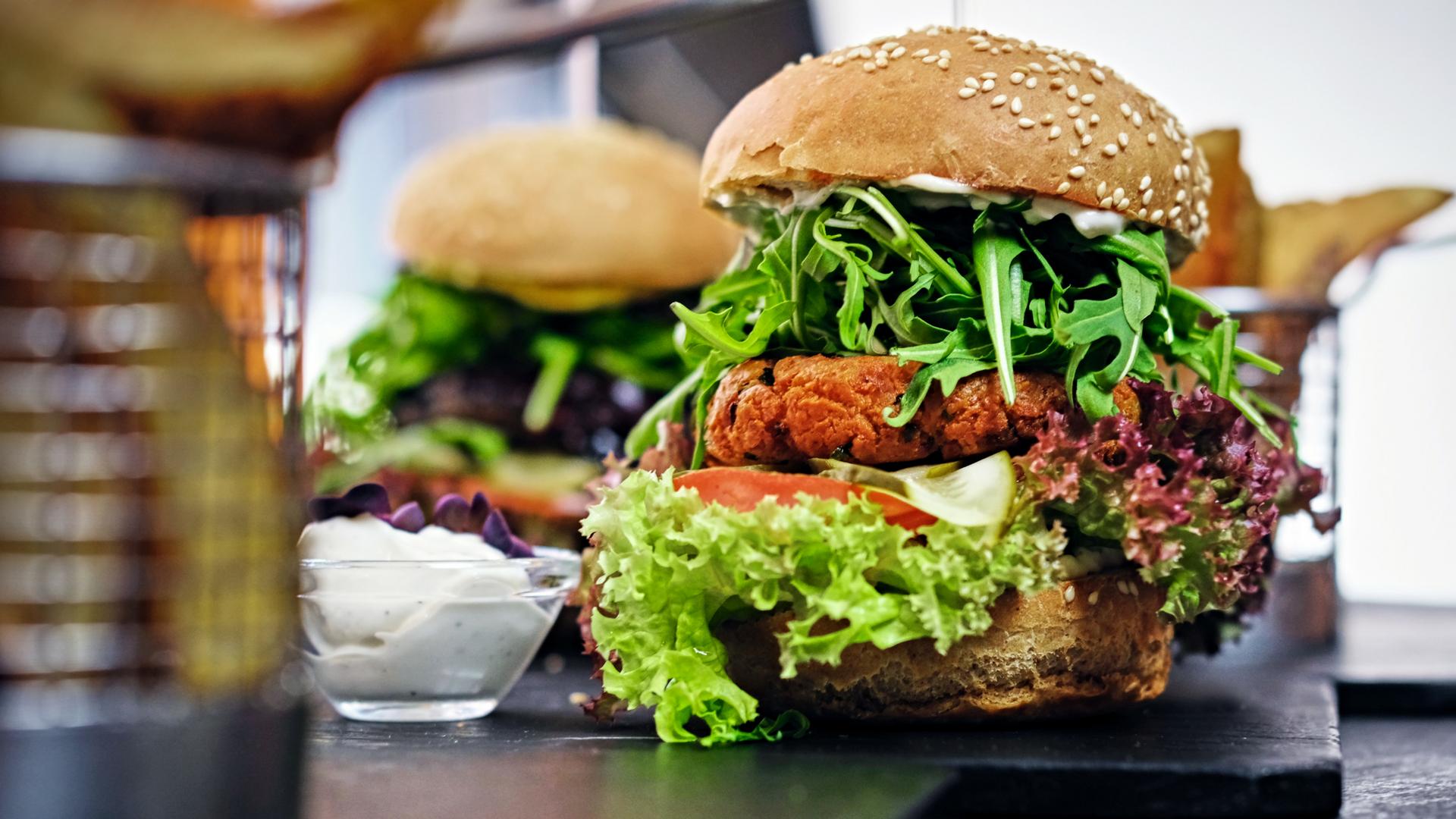 非肉蛋白来源素食主义者汉堡GydF4y2Ba