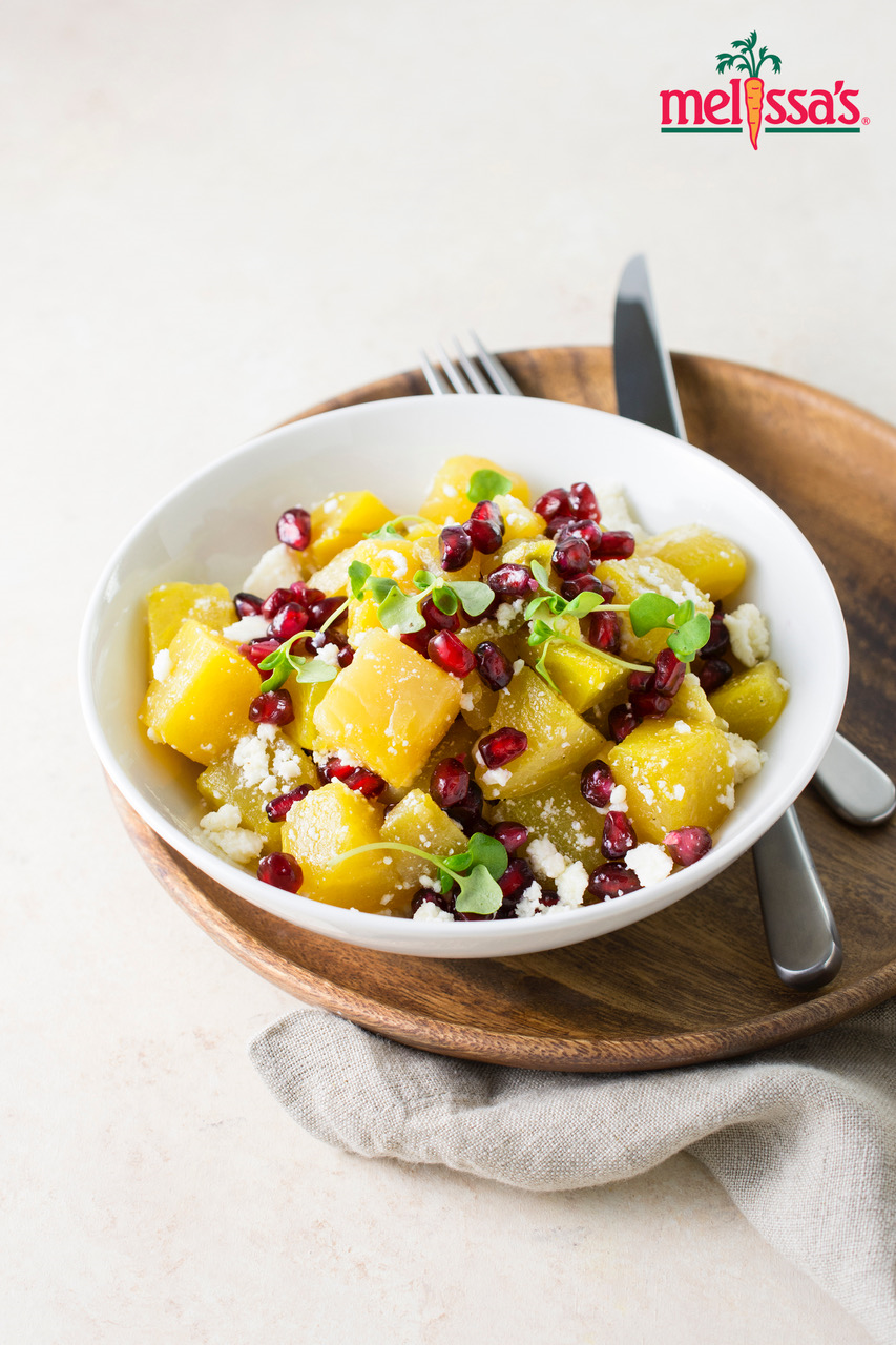 Red and Golden Beet Salad with Citrus Dressing