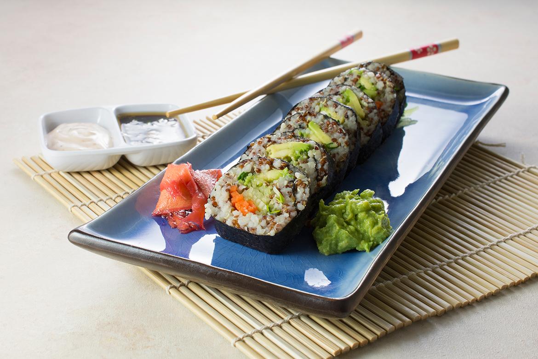 素食寿司|如何制作易蔬菜寿司