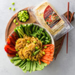 Cold Chinese Noodle Salad | healthy lunch, vegetarian, asian recipe