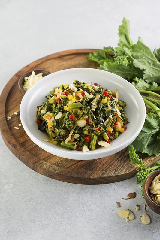 Rapini Saute l easy rapini vegetable side dish