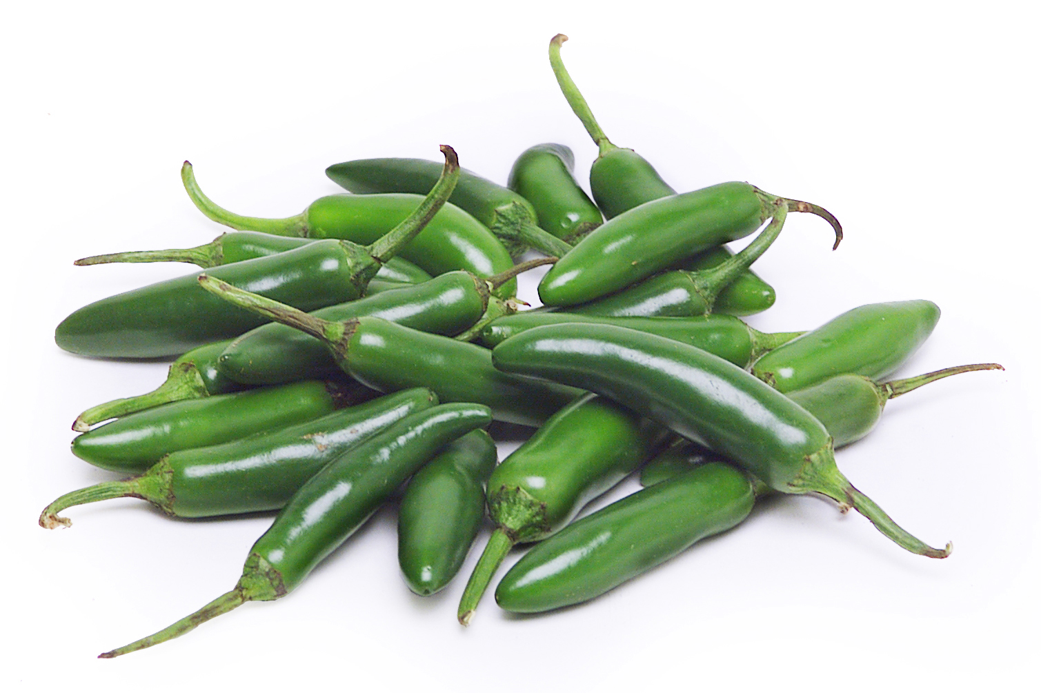 Know Your Chile Peppers: The Ultimate Guide l serrano chile peppers on white