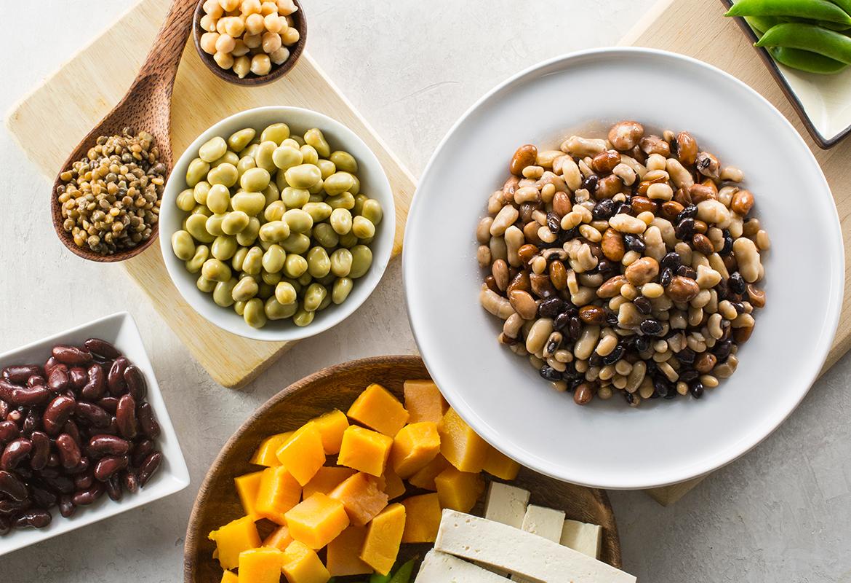 植物,素食主义者,饮食,植物蛋白质