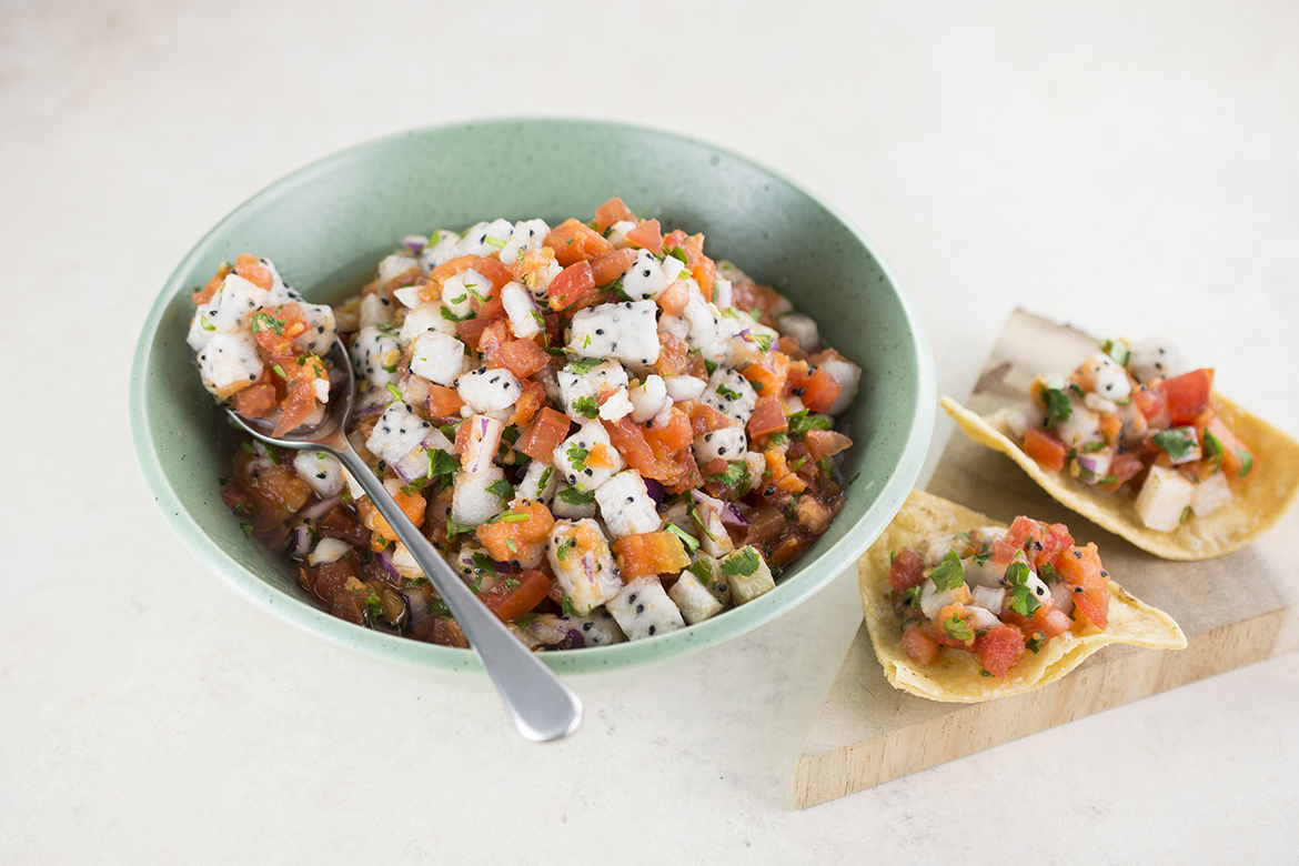 Spicy Exotic Fruit Salsa l spicy exotic fruit tropical fruit salsa