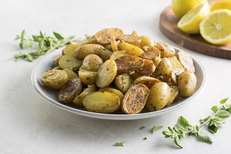 Greek Baby Potatoes with Lemon l greek baby potatoes with lemon