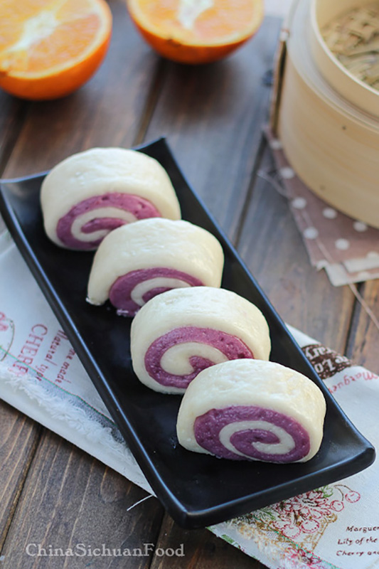 The Ultimate Potato Recipe Roundup l chinese purple sweet potato buns