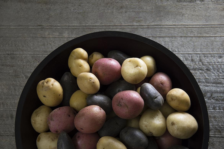 The Ultimate Potato Recipe Roundup l gemstone potatoes