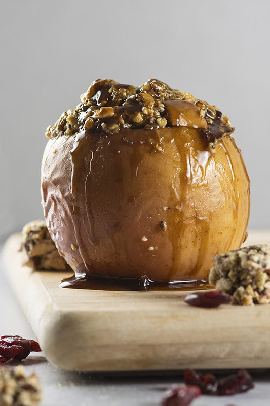 20+ Amazing Apple Recipes for Fall l holiday baked apple dessert