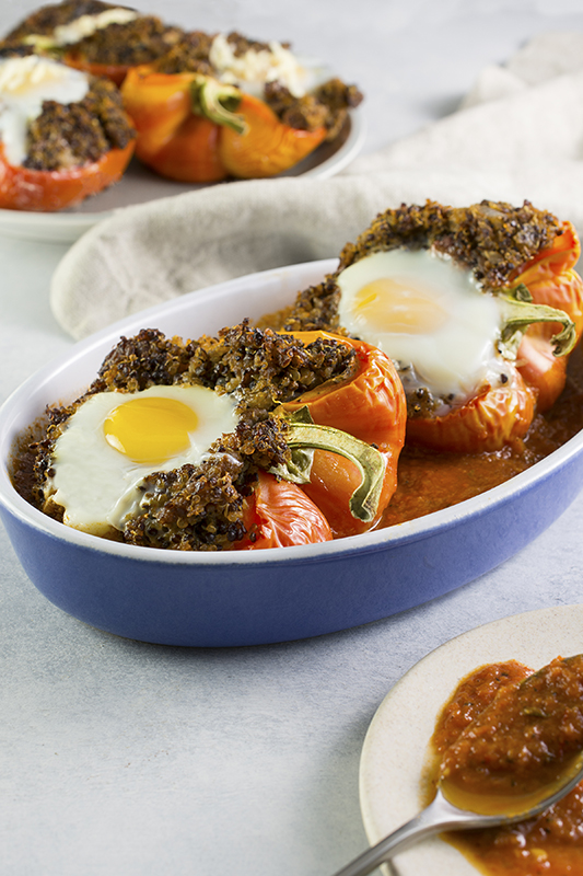 25 delicious ways to spice up National Pepper Month l stuffed enjoya peppers