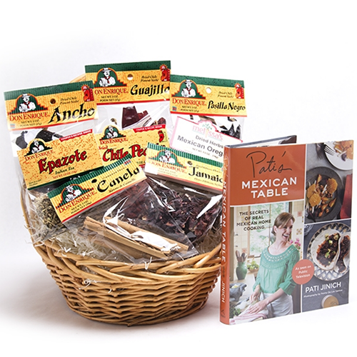 2018 Gift Guide for Food Lovers l Pati Jinich Essentials Basket
