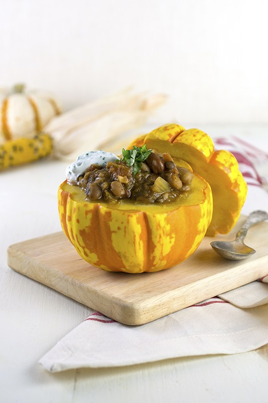 Healthy Thanksgiving Sides Recipe Roundup l vegetarian harvest chili