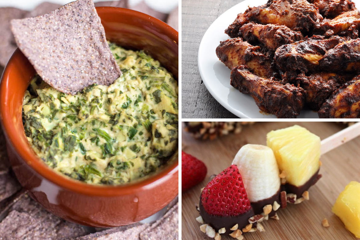 Genius Healthy Snacks for The Big Game