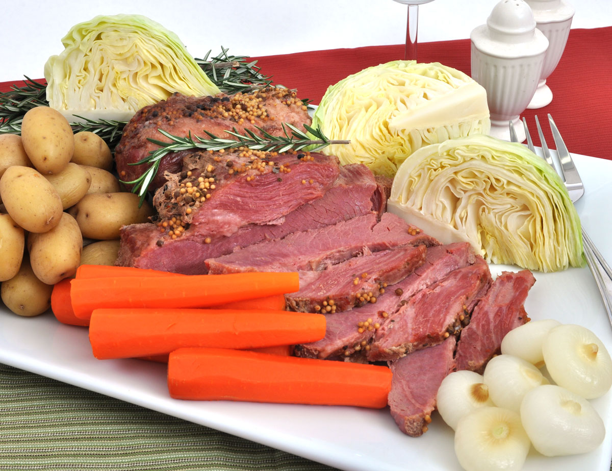 Corned Beef and Cabbage St Patricks Day