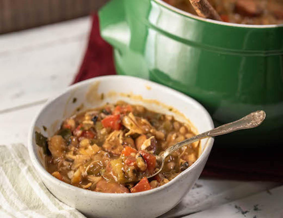 gumbo, gumbo recipe, black-eyed pea recipes