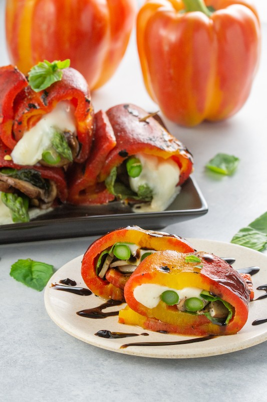 enjoya pepper recipe, roasted pepper recipe, appetizer recipe, appetizers