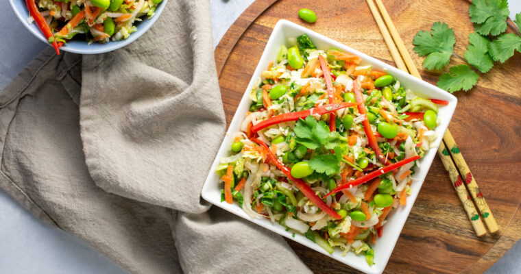 Spicy Asian Slaw Salad