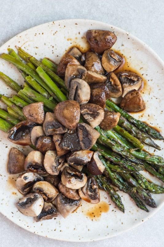 mushroom recipe, mushroom side dish