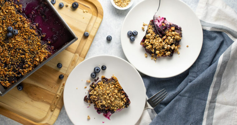 You Need This Blueberry Crumble With Coconut Clean Snax®