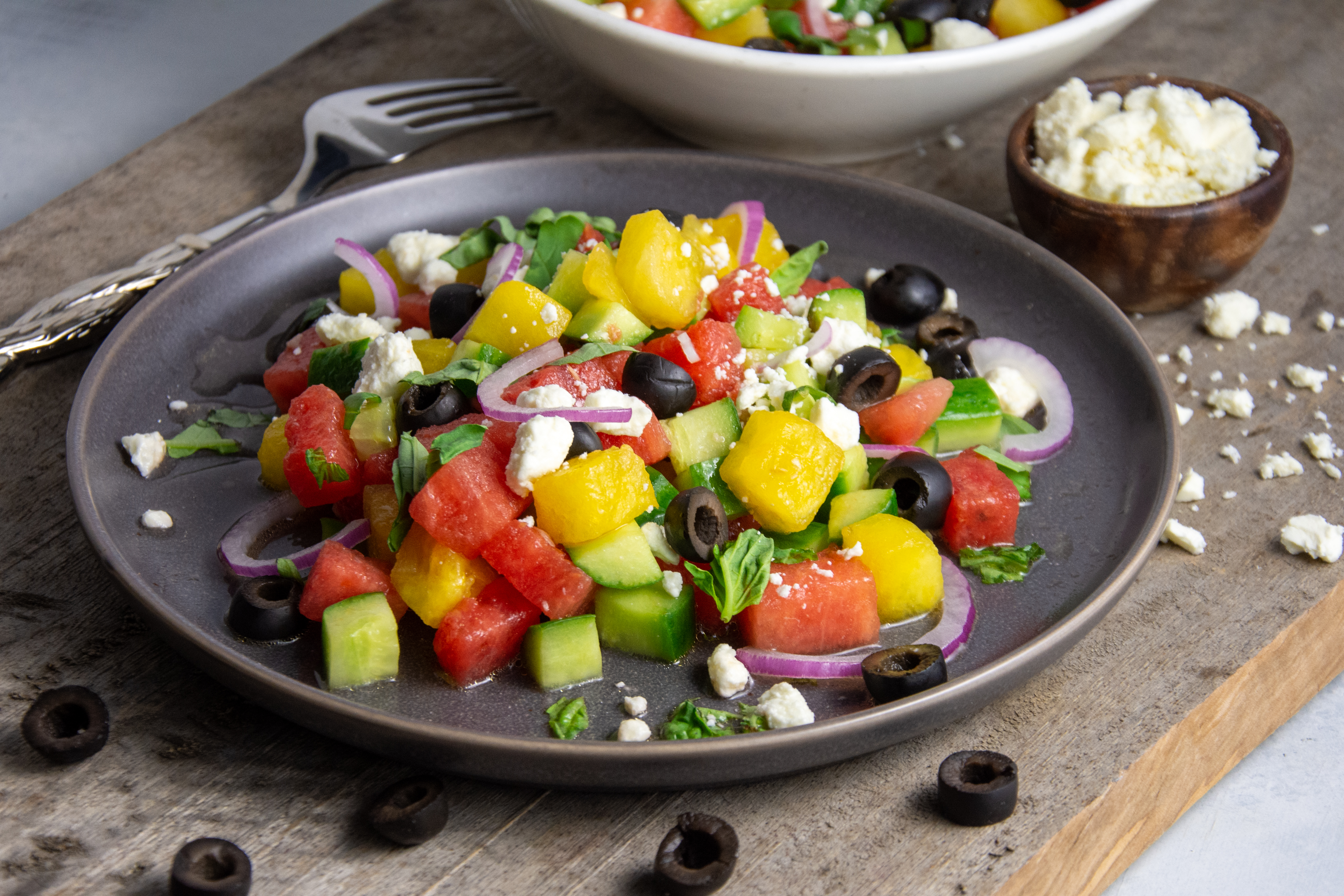 Watermelon Salad That Will Make Your Mouth Water