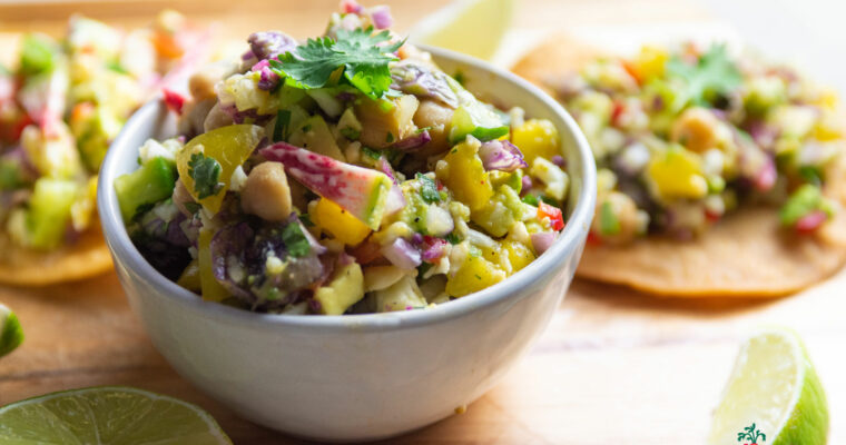 Meatless Ceviche (Plant-based)