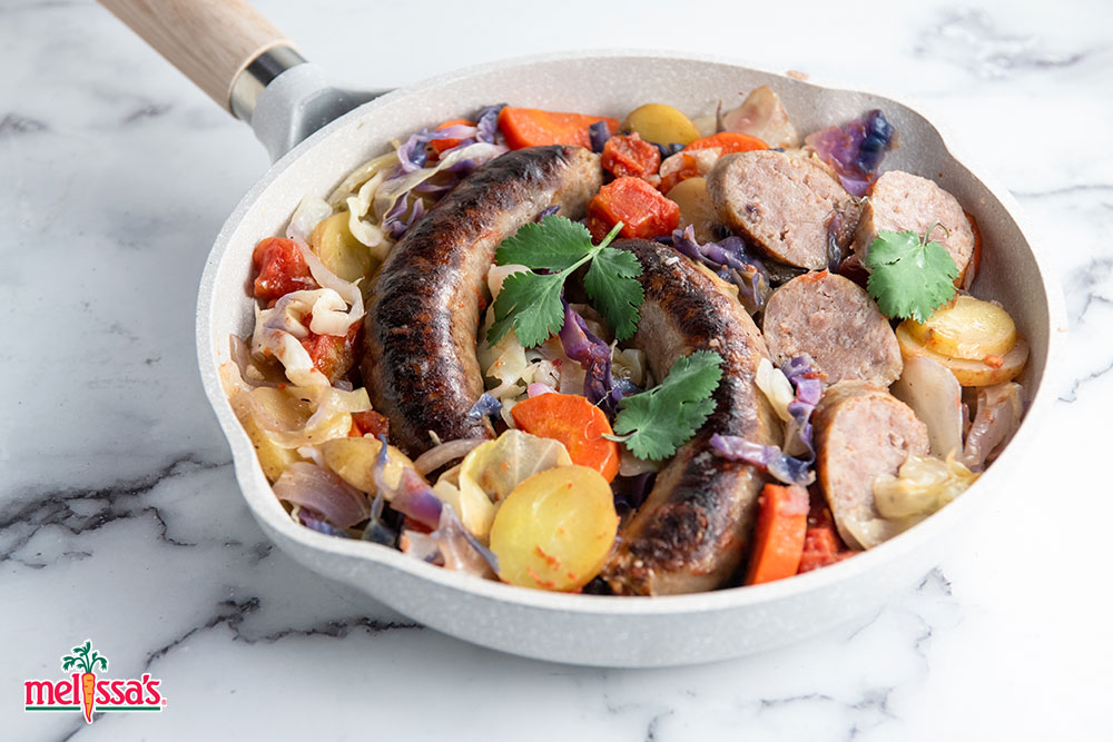 Irish Sausage Skillet