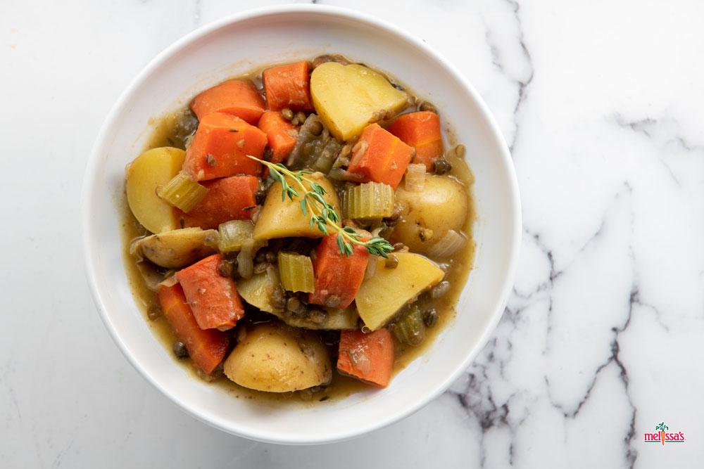 素食主义者 - 爱尔兰 - 扁豆 - 贵宾 - 炖4