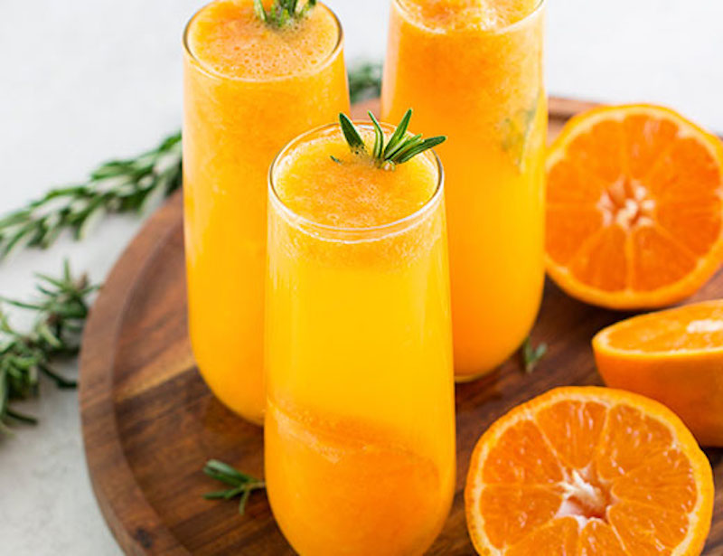 pixie tangerines, mimosa. easter recipe