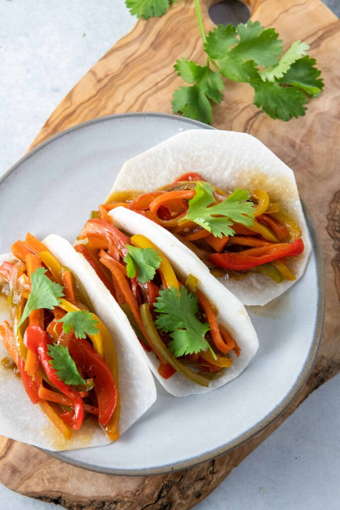 Vegetarian Asian Jicama Tacos-9