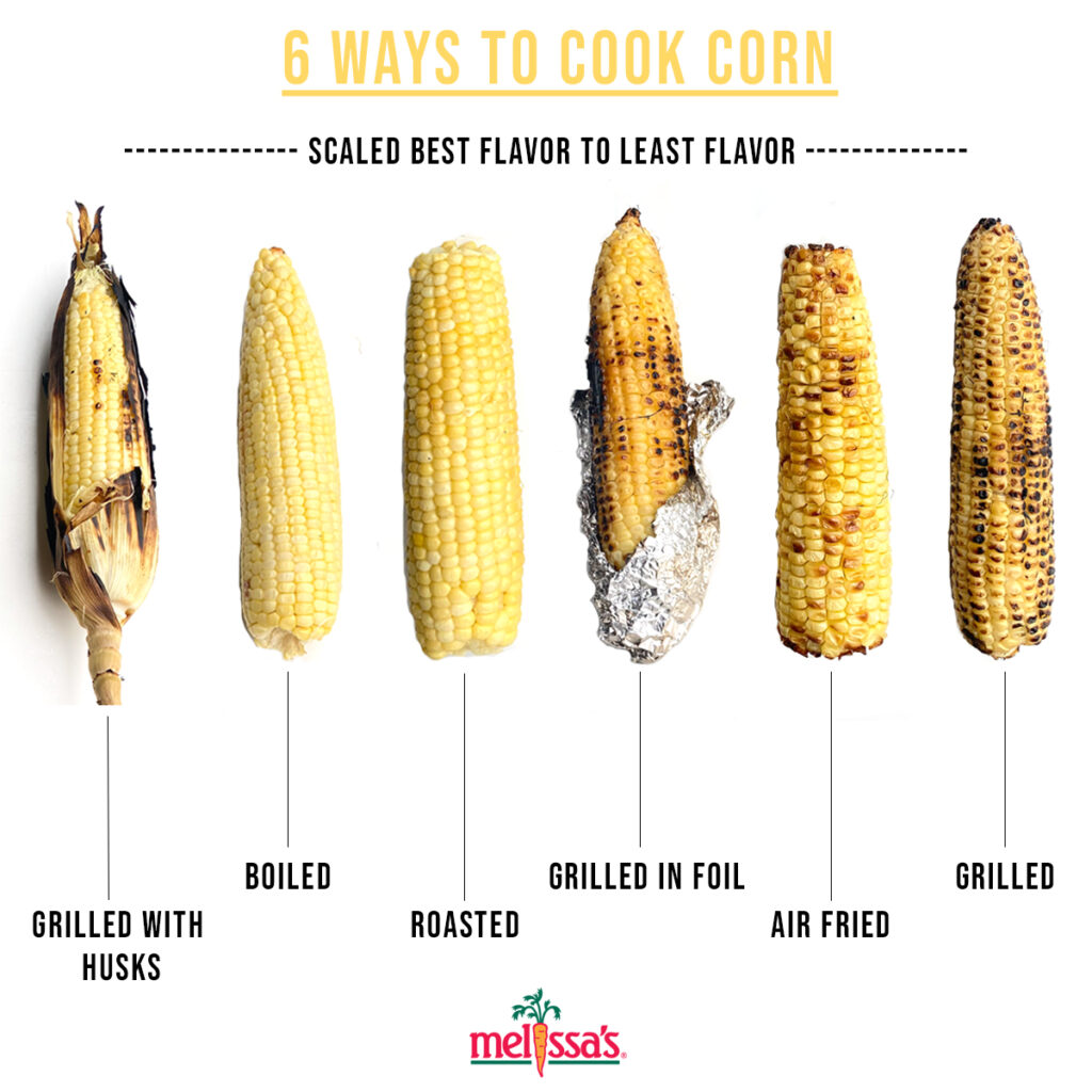 6 ways to cook corn
