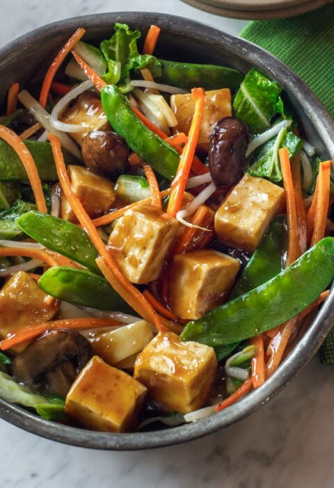 buddha delight, asian recipes, stir fry