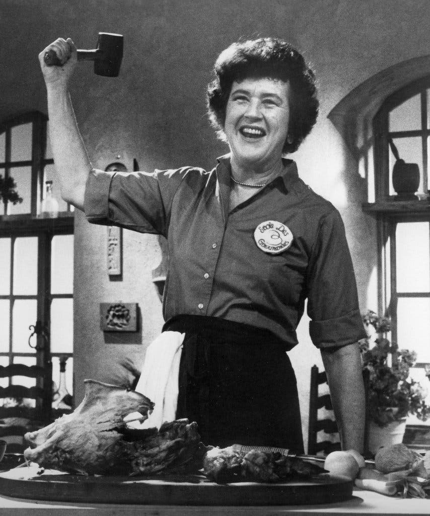 Julia child in New york times