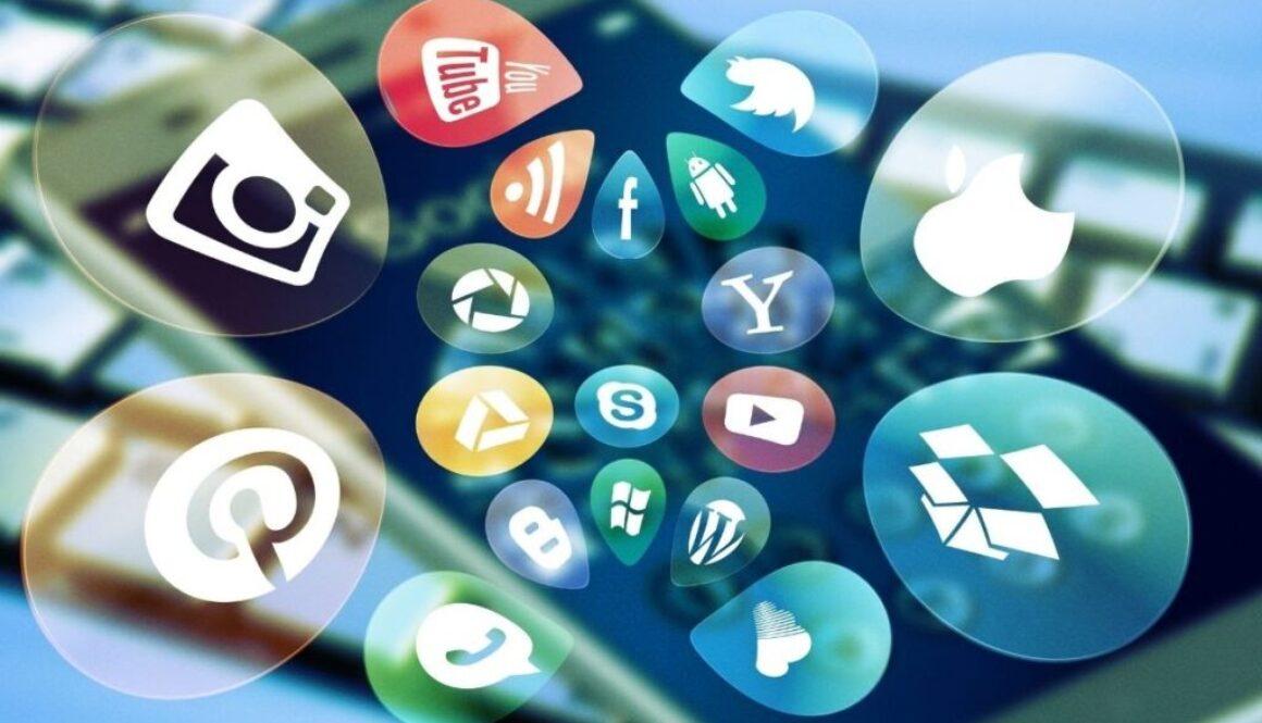 A photo depicting social media design.